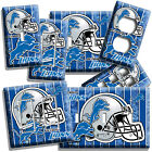 DETROIT LIONS FOOTBALL TEAM LIGHT SWITCH OUTLET WALL PLATE COVER ROOM HOME DECOR $12.99 USD on eBay