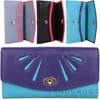 Ladies / Womens Soft Leather Multi-Colour Purse / Money / Coin Holder with Twist