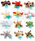 NEW WubbaNub Baby Infant Pacifier Soothie Plush