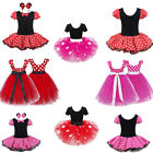 Baby Kids Girls Minnie Mouse Party Princess Costume Cosplay Ballet Tutu Dresses