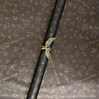Christmas Black & Gold Doodles Patterned Kraft Wrapping Paper 5 /10 metres