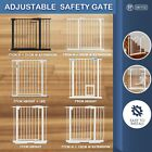 77-100CM Height Adjustable Width Baby Pet Safety Gate Stair Barrier Extendsion