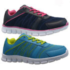 NEW LADIES WOMENS SPORTS GYM FITNESS JOGGING RUNNING CASUAL TRAINERS SHOES SIZE