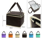 """6"""" Portable Cooler Insulated Lunch Storage Bag Tote for School, Office, Picnic"""