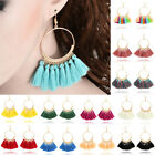 Wholesale Women Bohemian Earring Long Tassel Fringe Boho Dangle Earrings Jewelry