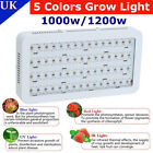 4X LED Grow Light Lamp Bulb Plants Hydroponic Full Spectrum 1000W/1200W UK SHIP