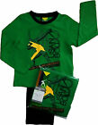 Boys Usain Bolt Pyjamas Sleepwear Nightwear Athletics Green and Black
