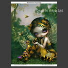 *BUMBLEBEE DRAGONLING* Strangeling Fairy Art Photo Print Jasmine Becket-Griffith