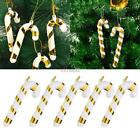 Home Decor Christmas Tree Red Gold Hanging Ornament Decoration K0E1