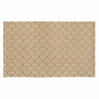 Home Furnishings by Larry Traverso Waves Hand-Woven Biscuit Area Rug