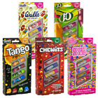 Just Balmy Retro Flavoured Lip Balms Sweet Shop Chewits J20 Tango Walls 4 Pack