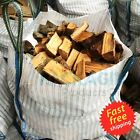 VENTED FIREWOOD LOG BULK BAGS 90x90x90cm VENTILATED WOVEN WPP SACK 1000KGS