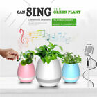 Wireless Bluetooth Speaker Bass Stereo Flower Pot Touch Plant for smartphone
