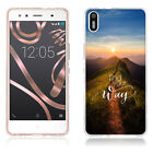 For HTC BQ Doogee Neoprene Printed TPU Soft Rubber Gel Silicone Back Case Cover