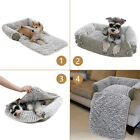 Luxury Pet Sofa Bed Pad Dog Cat 3 in 1 Couch Mat Cover Cozy Kennel Pad Cushion