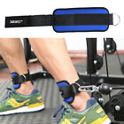 Adjustable D-ring Ankle Strap Cable Machines Workouts Leg Butt Weight Lifting