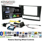 Kenwood DDX6904S Double Din DVD CD Player Install Kit Bluetooth HD Apple CarPlay