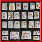 1 X HAND MADE CUTE CHRISTMAS HUNKY DORY CARD TOPPER+GEMS (OCT 2017