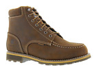 Carhartt Mens 6 Brown Leather Waterproof EH Soft Toe Work Boot CMW6197