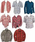 Polo Ralph Lauren Denim & Supply Mens Plaid Flannel Blue Red Button Down Shirt