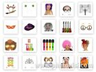 Photo Booth Deluxe Props for Wedding Engagement & Birthday Parties Accessories &