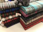 tartan, prince of wales check FABRIC 150cm wide, purple,turquoise, pink , red