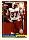 1992 Topps Football Singles #501-750 - Your Choice GOTBASEBALLCARDS