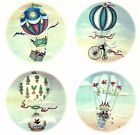 Hot Air Balloon Sky Background Select-A-Size Waterslide Ceramic Decals Tx image