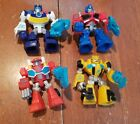 Lot of 4 Playskool Transformers Rescue Bots Figures Bumblebee Optimus Prime - Time Remaining: 4 days 19 hours 29 minutes 46 seconds
