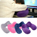 Travel Inflatable U Shape Trip Soft Pillow Air Cushion Neck Support Head Rest