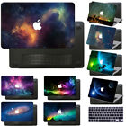 "Rubberized Laptop Hard Galaxy Printed Case cover For Macbook Air 11""12 Pro 13""15"