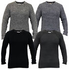 Mens Cable Knitted Sweater Pullover Top Jumpers By Brave Soul