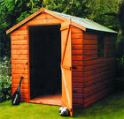 The Malvern Pressure treated  Bewdley Apex garden shed delivered and installed