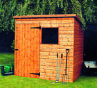 THE BEWDLEY PENT PRESSURE TREATED   GARDEN SHED DELIVERED & ERECTED FREE