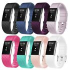Replacement Wristband Strap Sport Bracelet Buckle Watch Band For Fitbit Charge 2