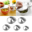 Cute Anti-dust Stainless Steel Cup Cover Coffee Mug Suction Seal Lid Cap Tool