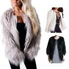 vancy Luxury Lady's Faux Fox Fur Coat Cloak Loose MINK FUR Cape Parka Overcoats