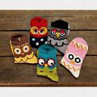 Yoocart Cute Cartoon Women'S Girls Colorful Owl Animal Dots Ankle Cotton Socks