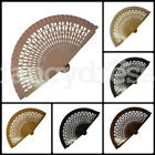 Lattice Wooden Fan Beautiful Wood Spanish Flamenco Dance Traditional Fancy Dress