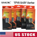 5x SMOK TFV8 BABY V8 M2 0.25/0.15O Replacement Coils For Stick V8 Big Baby