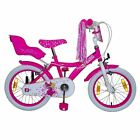 Cosmic Kids Princess 16 Inch Bike Bicycle Cycle Single Speed Steel Wheels