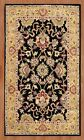 James Bond Alliyah Delhi Black Area Rug $136.99 USD