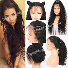 Brazilian Remy Virgin Human Hair Wigs Full Lace Front Wigs Weave Hair Baby Hairs