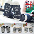If You can read this Bring Me a Beer A Glass Of Wine Women Men Socks Unisex