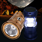 Solar LED Rechargeable Light Outdoor Camping Hiking Flashlight or Lantern Lamp