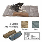 Pet Dog Cat Blanket Cushions Puppy Portable Dog Outdoor Mat Cozy Foldable Beds