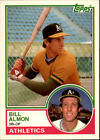 1983 Topps Traded Baseball #1-132 - Your Choice -*WE COMBINE S/H*