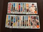 2017 TOPPS HERITAGE MINORS BLUE Border Parallel #/99 - PICK ANY YOU NEED