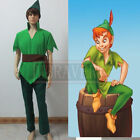 New Arrival Peter And Wendy Custom Made Peter Pan Cosplay Costume