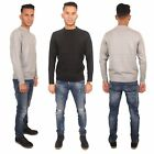Mens Sweatshirt Knitwear Sweater Jumper Pullover Long Sleeve Size S M L XL XXL